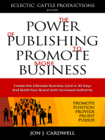 The Power of Publishing to Promote More Business