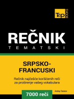Srpsko-Francuski tematski rečnik
