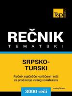 Srpsko-Turski tematski rečnik