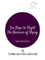 Ten Steps to Flight