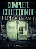 Complete Collection Of H. P. Lovecraft - 150 eBooks With 100+ Audiobooks (Complete Collection Of Lovecraft's Fiction, Juvenilia, Poems, Essays And Collaborations)