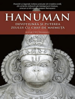 Hanuman. Devoțiunea și puterea zeului cu chip de maimuță