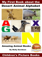 My First Book about the Desert Animal Alphabet