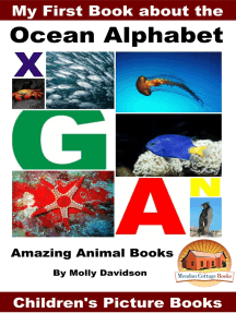 My First Book about the Ocean Alphabet: Amazing Animal Books - Children's Picture Books