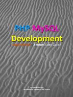 PHP MySQL Development of Login Modul