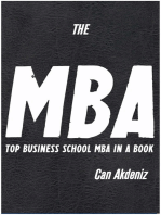 The MBA Book: TOP Business School MBA compiled in a Book