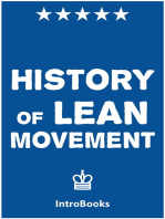 History of Lean Movement