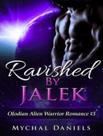 Ravished By Jalek (Olodian Alien Warrior Romance, #3)