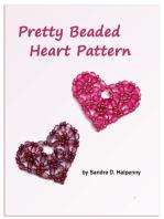 Pretty Beaded Heart Pattern