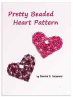 Pretty Beaded Heart Pattern