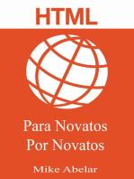 HTML Para Novatos Por Novatos