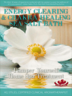 Energy Clearing & Chakra Healing Sea Salt Bath - Pamper Yourself Home Spa Treatment