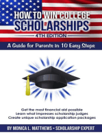 How to Win College Scholarships
