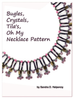 Bugles, Crystals, Tila's, Oh My Necklace Pattern