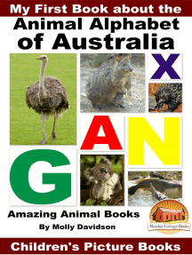My First Book about the Animal Alphabet of Australia: Amazing Animal Books - Children's Picture Books