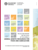 The Second Report on the State of the World's Animal Genetic Resources for Food and Agriculture