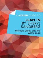 A Joosr Guide to... Lean In by Sheryl Sandberg