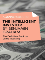 A Joosr Guide to... Intelligent Investor by Benjamin Graham