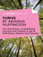 A Joosr Guide to… Thrive by Arianna Huffington