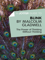 A Joosr Guide to... Blink by Malcolm Gladwell
