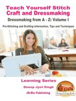 Teach Yourself Stitch Craft and Dressmaking