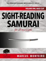 Sight-Reading Samurai, for all musicians [Volume One