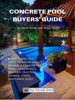 Concrete Pool Buyers' Guide (The Water's Edge, #1)