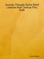 Journey Through God's Word - Lessons from Joshua Thru Ruth