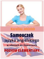Samouczek języka angielskiego w zdaniach do tłumaczenia