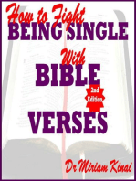 How to Fight Being Single with Bible Verses 2nd Edition