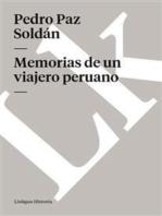 Memorias de un viajero peruano