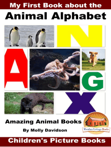 My First Book about the Animal Alphabet: Amazing Animal Books - Children's Picture Books