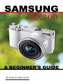 Samsung Nx 3000: A Beginner's Guide