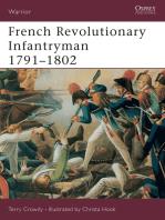 French Revolutionary Infantryman 1791–1802