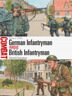 German Infantryman vs British Infantryman