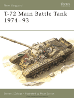 T-72 Main Battle Tank 1974–93