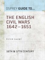 The English Civil Wars 1642–1651