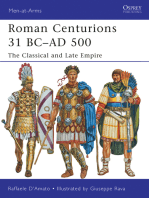 Roman Centurions 31 BC–AD 500