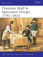 Prussian Staff & Specialist Troops 1791–1815