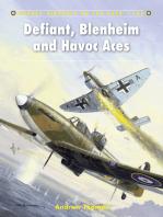 Defiant, Blenheim and Havoc Aces