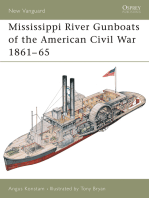 Mississippi River Gunboats of the American Civil War 1861–65