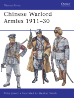 Chinese Warlord Armies 1911–30