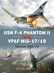 USN F-4 Phantom II vs VPAF MiG-17/19: Vietnam 1965–73