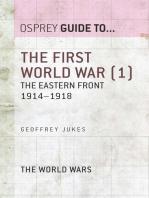 The First World War (1)