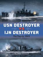 USN Destroyer vs IJN Destroyer