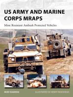 US Army and Marine Corps MRAPs: Mine Resistant Ambush Protected Vehicles