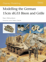 Modelling the German 15cm sIG33 Bison and Grille