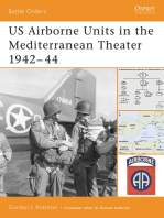 US Airborne Units in the Mediterranean Theater 1942–44