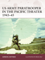 US Army Paratrooper in the Pacific Theater 1943–45