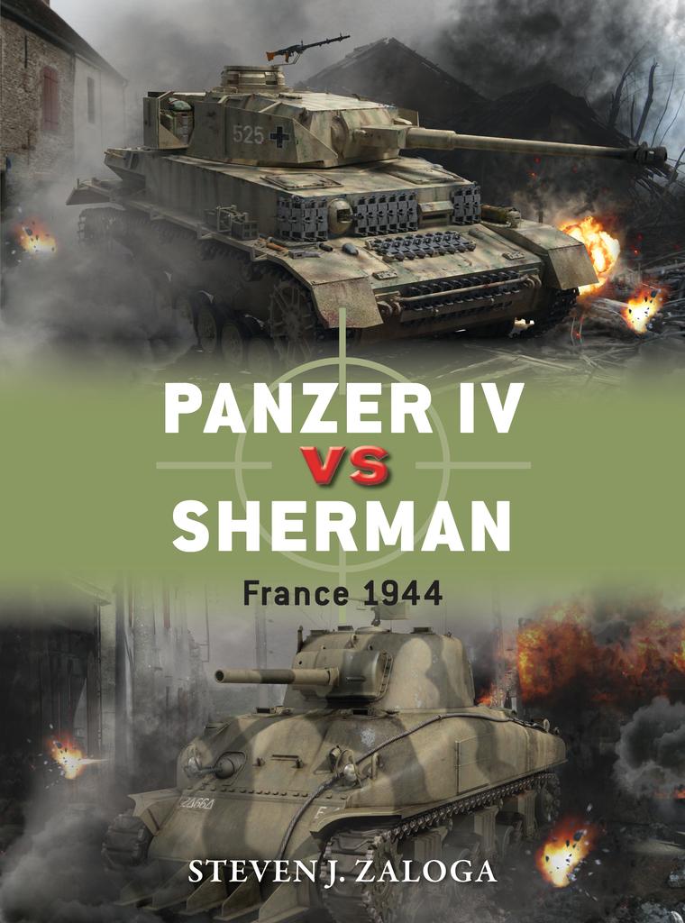 Panzer IV vs Sherman by Steven J. Zaloga and Richard